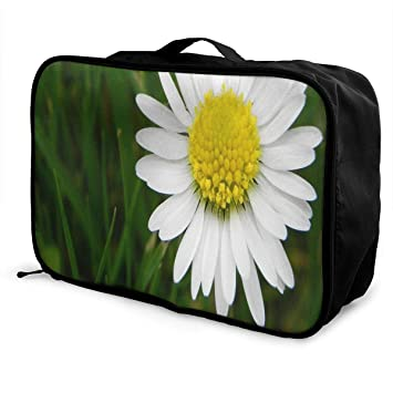 Portable Luggage Duffel Bag Peacocks And Flowers Travel Bags Carry-on In Trolley Handle