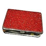 Bling Diamond Crystal Cigarette Case Holds,Metal cigarette case,Hold 20 cigarettes