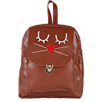 9 Muses Vegan PU Leather Backpack Stylish Trendy for Girls