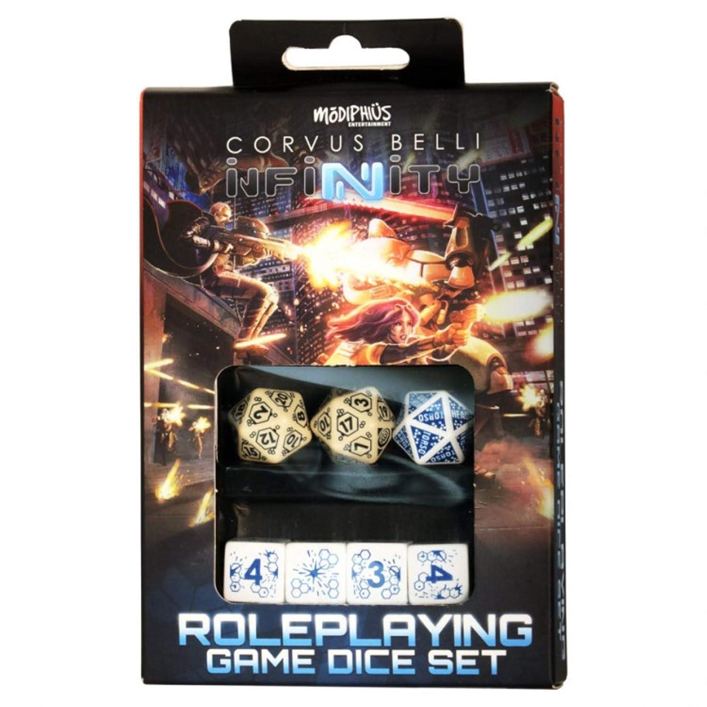 Amazon.com: Infinity RPG - Dice Set - Haqqislam (7): Toys ...