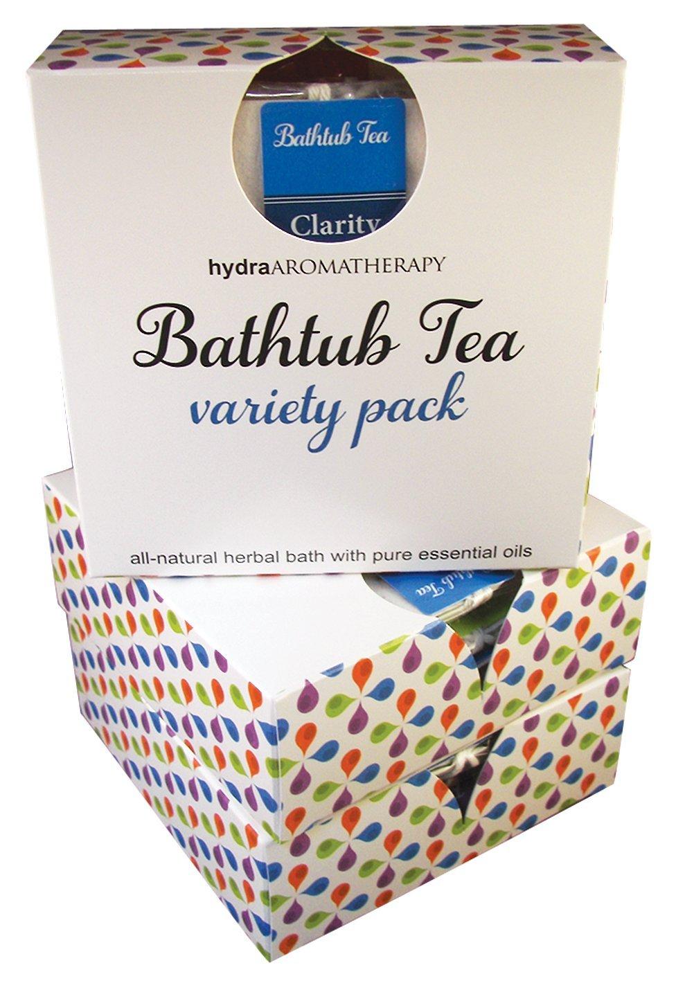 hydraAromatherapy Signature Bathtub Tea Variety Pack by hydraAromatherapy