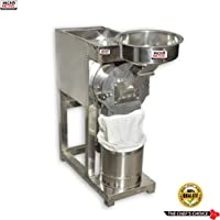 MICROACTIVE® 2 in 1 Fully Automatic Stainless Steel Flour Mill/Pulverizer Machine/Masala Grinder