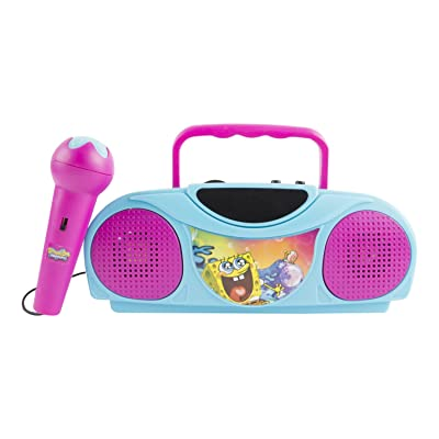 Dora the Explorer Sponge Bob 16367 Karaoke Radio Kits by Sakar: Toys & Games