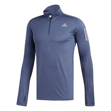 Adidas RS LS Zip tee M Camiseta, Hombre, Azul (Añil), XS: Amazon.es: Deportes y aire libre
