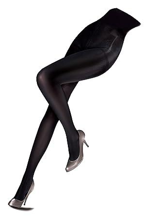 3b0582887a5 Ladies 1 Pair Pretty Polly 50 Denier Lustre Opaque Tights Black SM   Amazon.co.uk  Clothing