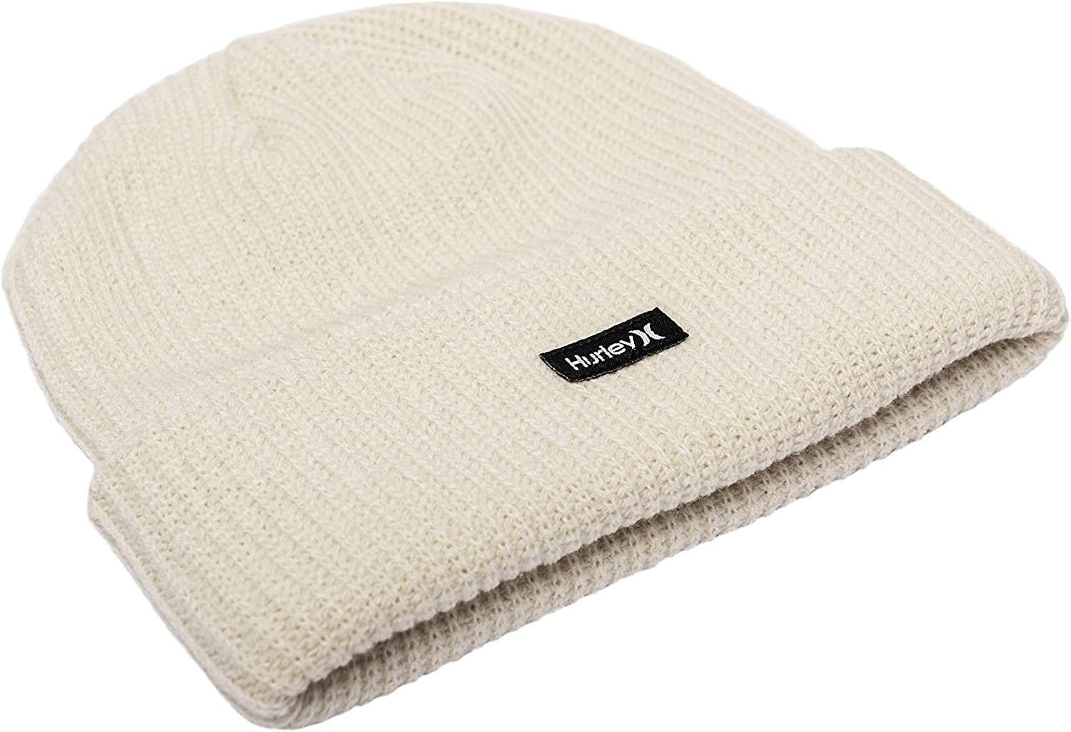 Hurley W Patch Beanie Gorros, Mujer, Cream, 1SIZE: Amazon.es ...