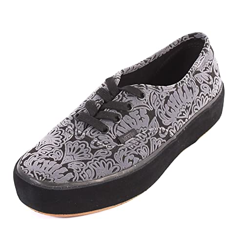 Vans Women s Authentic Sidewall Wrap Platform Lace Up Trainer Black   Amazon.co.uk  Shoes   Bags 7728296e2