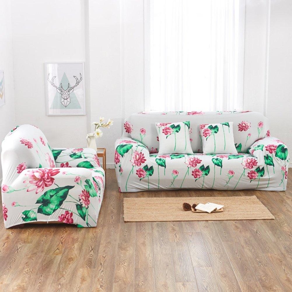 Sofa slipcover elástico,Fundas de sofá 全盖anti-slip Paquete apretado Cala de sofá universal Cobertura total Tela Toalla de sofá Protector de los ...