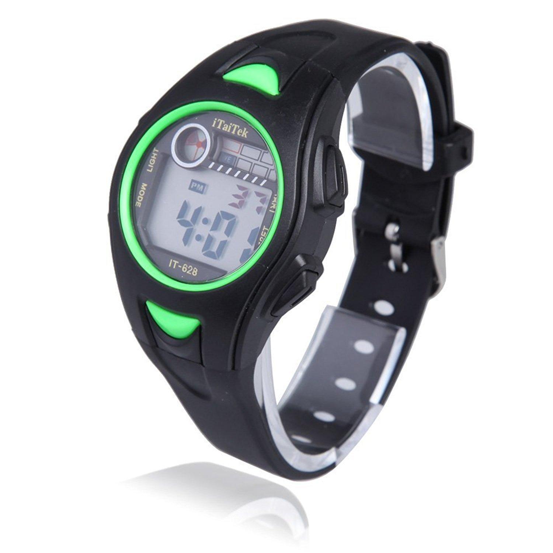 Reloj de pulsera de nino - iTaiTek Reloj de pulsera digital para Natacion Deportes de chica