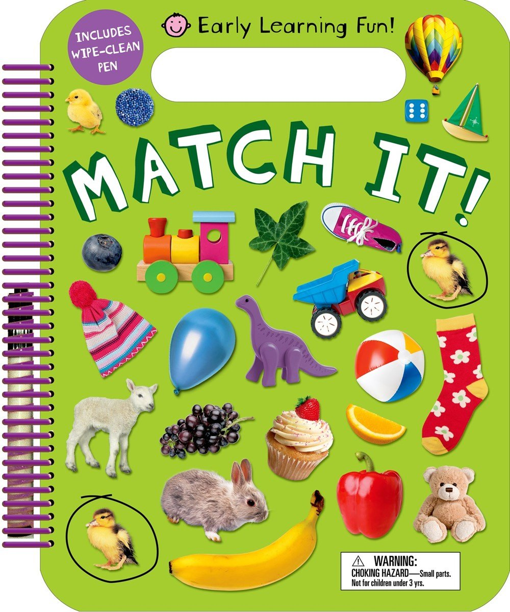 Early Learning Fun Match Wipe Clean