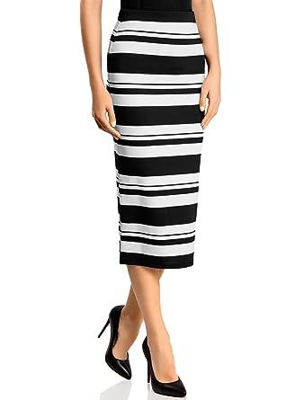 2c8ba2a8e361 oodji Ultra Femme Jupe Maille Longue  Amazon.fr  Vêtements et accessoires