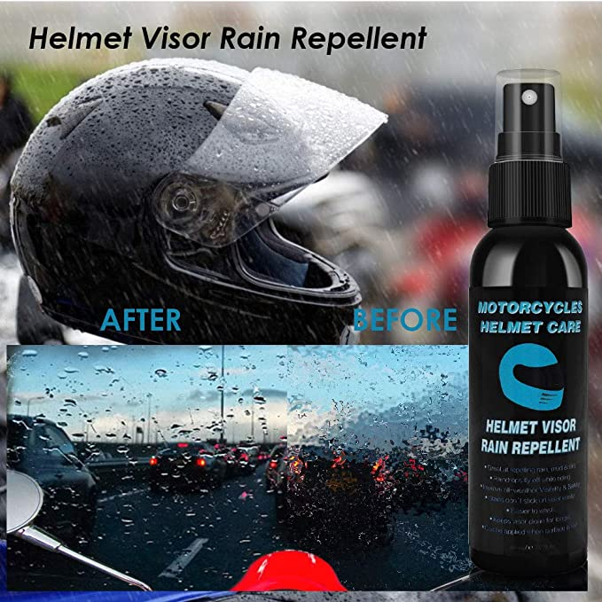 Helmet Visor Cleaning Product Motorcycle Visor Motorcycle Helmet Visor Cleaner 10 Sets in Package Racefoxx Visor and Helmet Cleaner Cloth