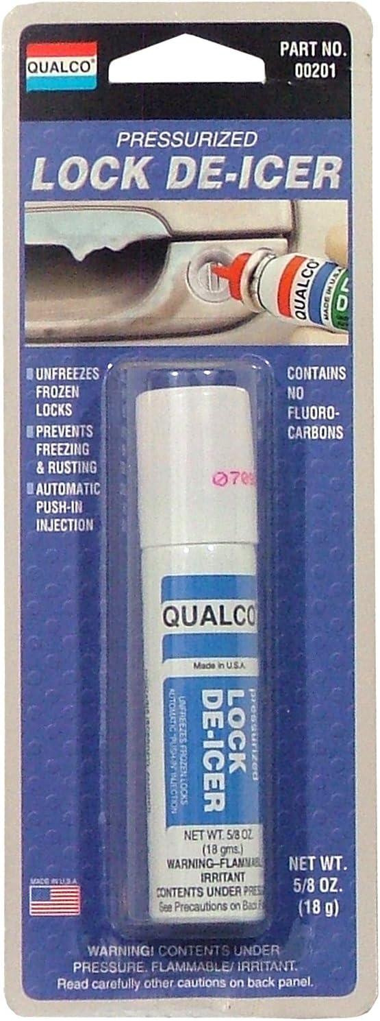 Qualco Pressurized Lock De-Icer