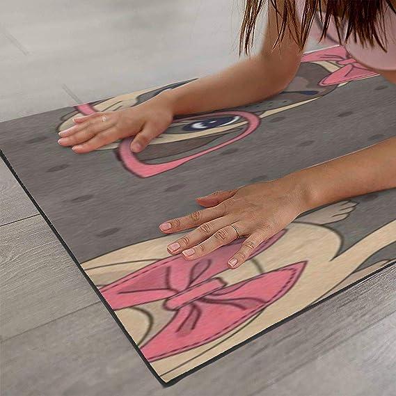 Amazon.com: Lovely Pug - Alfombrillas de yoga para perro, de ...