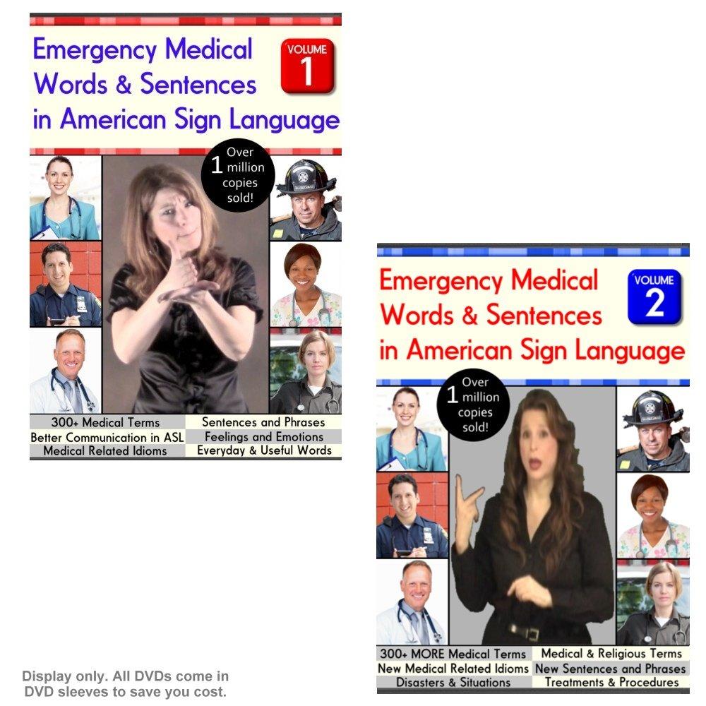 Amazon com: Emergency Medical Words & Sentences in American