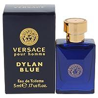 Amazon.com deals on Versace Dylan Blue Mini Eau de Toilette Splash Men, 0.17 Oz