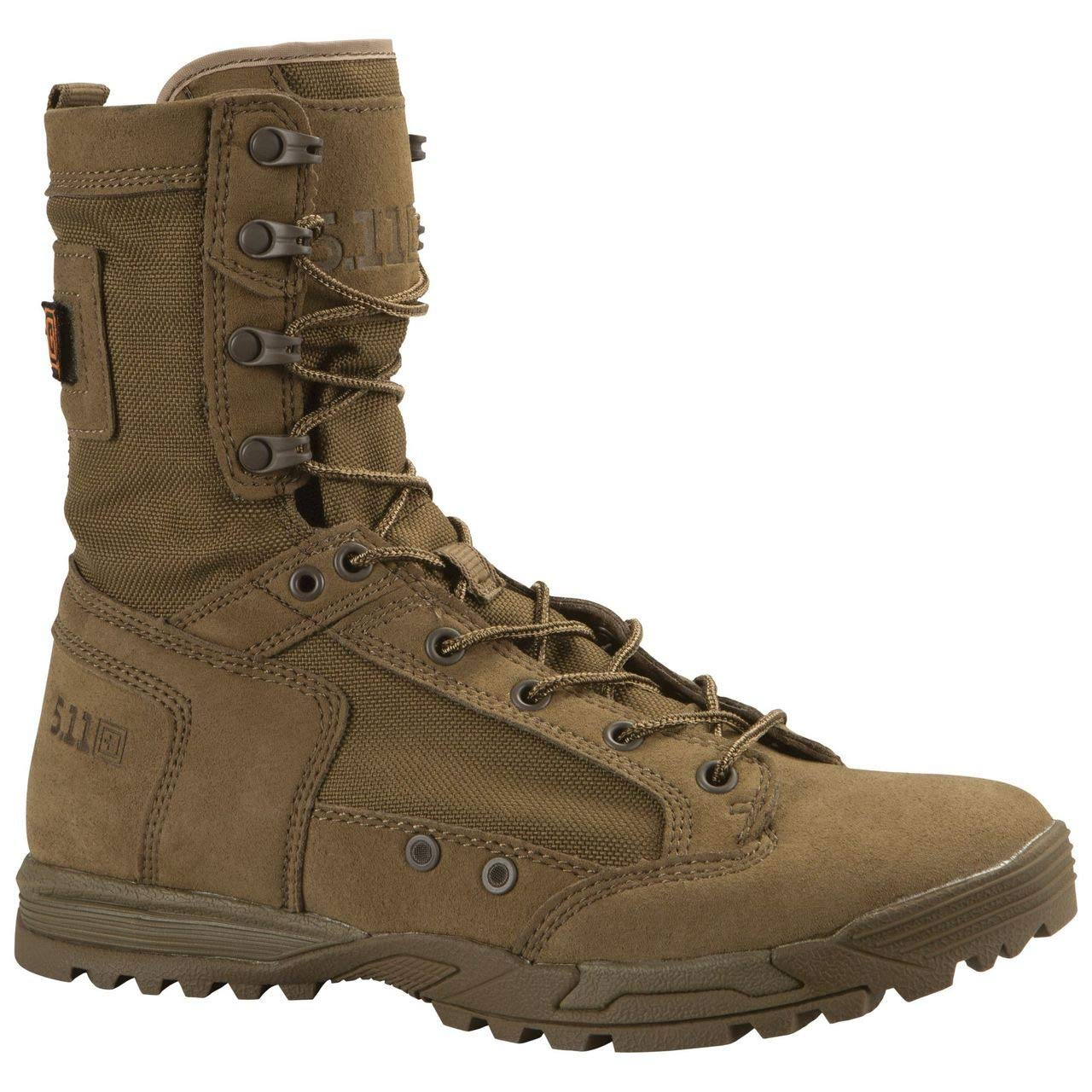 5.11 Men's Skyweight Rapid Dry Military and Tactical Boot, Dark Coyote, 12 M US