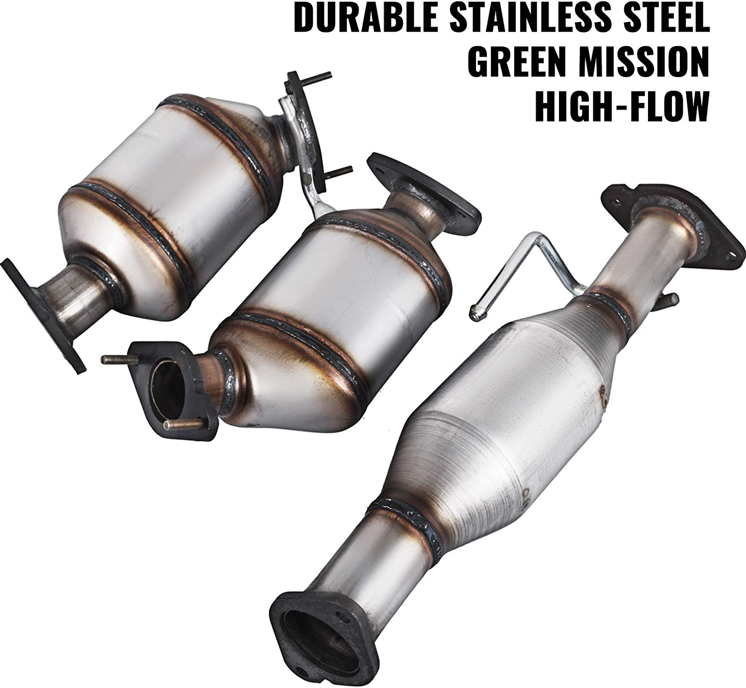 2007-2017 GMC ACADIA 3.6L CATALYTIC CONVERTER PASSENGER SIDE WITH GASKETS FITS