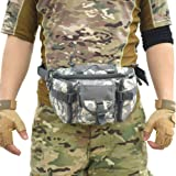 Tactical Waist Pack Army Military Fanny Pack Outdoor Hiking Climbing Hunting Fishing Shopping Travel Waterproof Waist Bag LY0022