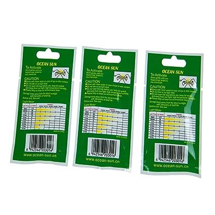 50 unidades (10 bolsillos) 4,5 * 37 mm Float Glow Stick Noche Pesca Verde 55,8 Luz: Amazon.es: Deportes y aire libre