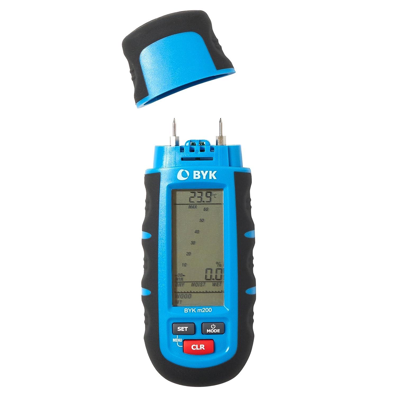 BYK-Garner m200 Moisture Meter - Handheld, Pin Type with Backlit ...