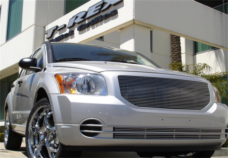 Trex rejillas 20477 horizontal aluminio pulido acabado de repuesto Billet Grille para Dodge Caliber: Amazon.es: Coche y moto