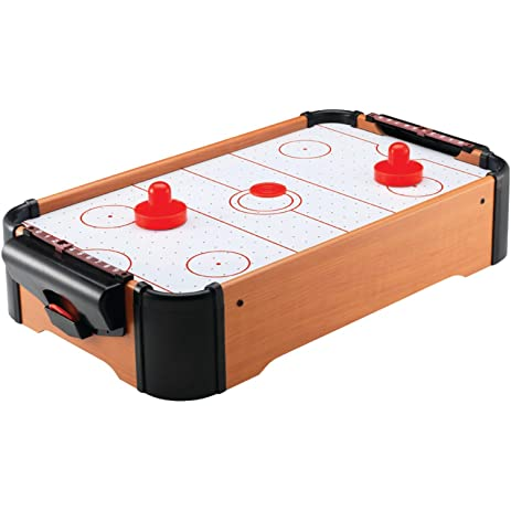 Style Asia GM7449 Tabletop Air Hockey Game Set