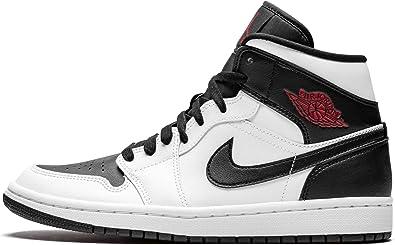Nike Mujeres Air Jordan 1 Mid Mujeres Bq6472 101 Blanco 9 Shoes