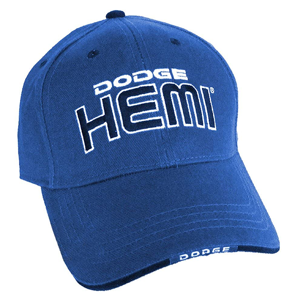 Gregs Automotive Dodge HEMI Hat Blue Bundle with Driving Style Decal 175BL