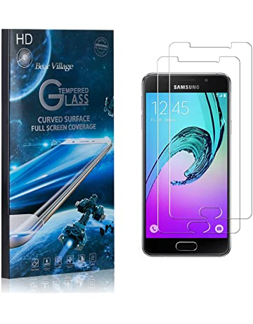 Bear Village/® Screen Protector for Galaxy A5 2017 9H Scratch Resistant HD Tempered Glass Screen Protector Film for Samsung Galaxy A5 2017 2 Pack