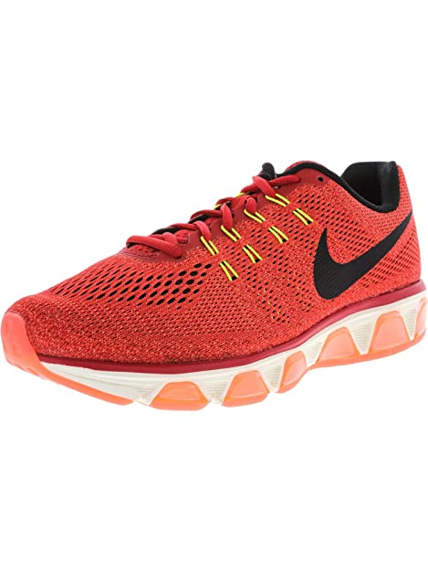 Lectura cuidadosa Óptima violación  Nike Women's WMNS Air Max Tailwind 8, University RED/Black-Hyper  Orange-Volt, 11 US: Amazon.in: Shoes & Handbags