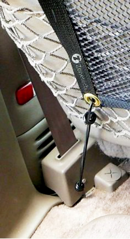 Zone Tech Pet Car Net Barrier – Universal Mesh Vehicle Pet by Zonetech (Image #5)