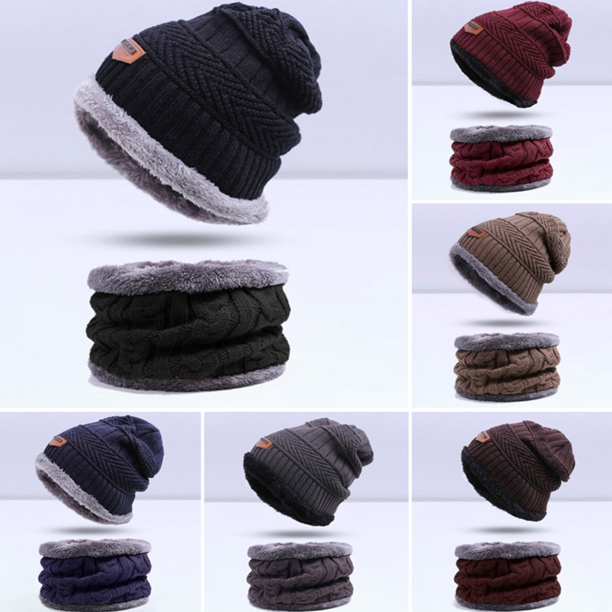 Garçon écharpe et gants Godea Ensemble bonnet