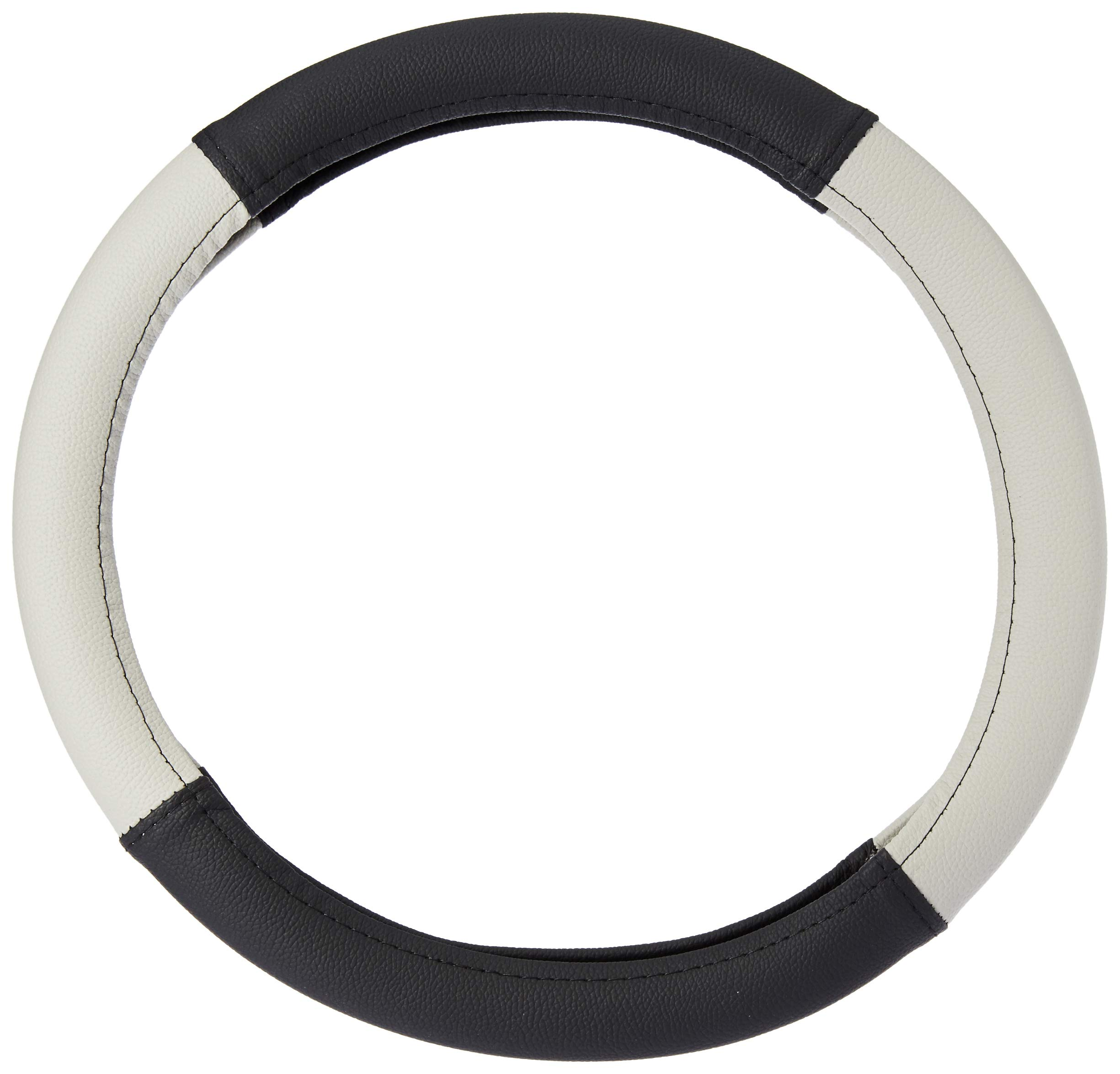 Amazon Brand - Solimo Steering Cover (Small), Grey product image