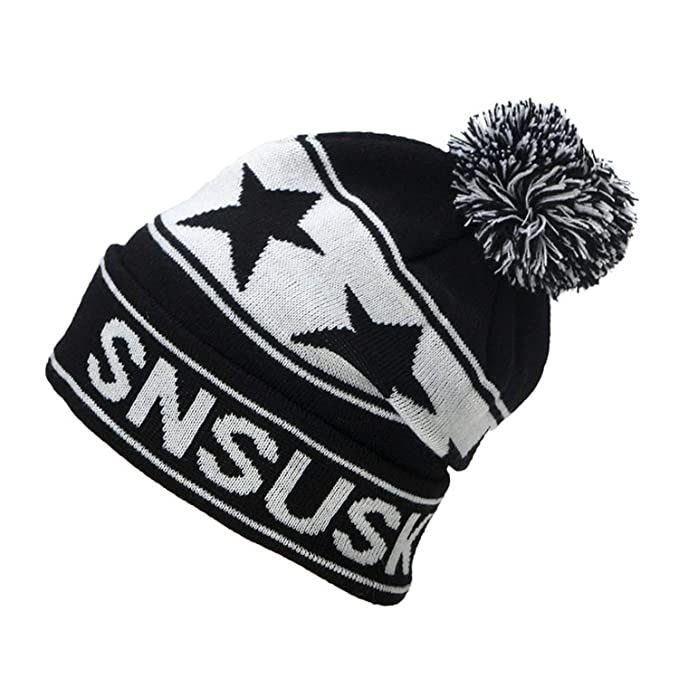 103060326d849 Image Unavailable. Image not available for. Color  Eric Carl 2019 Winter  Ski Hats Snowboard Warm Woolen Caps for Men Women ...