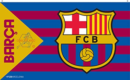 Fc barcelona flag bw amazon sports fitness outdoors fc barcelona flag bw stopboris Choice Image