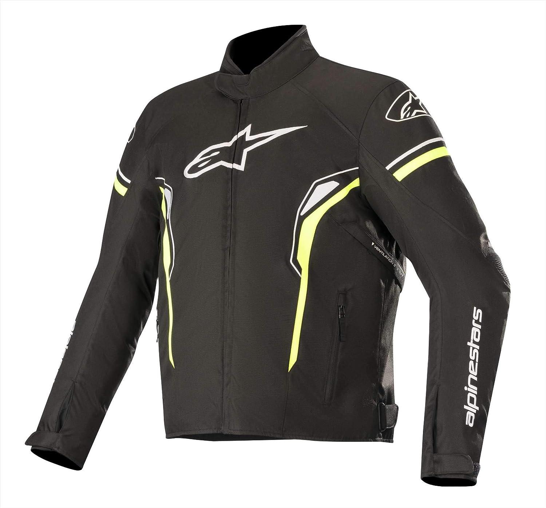 Alpinestars Chaqueta moto T-sp-1 Waterproof Jacket Negro Amarillo, Negro/Amarillo, L
