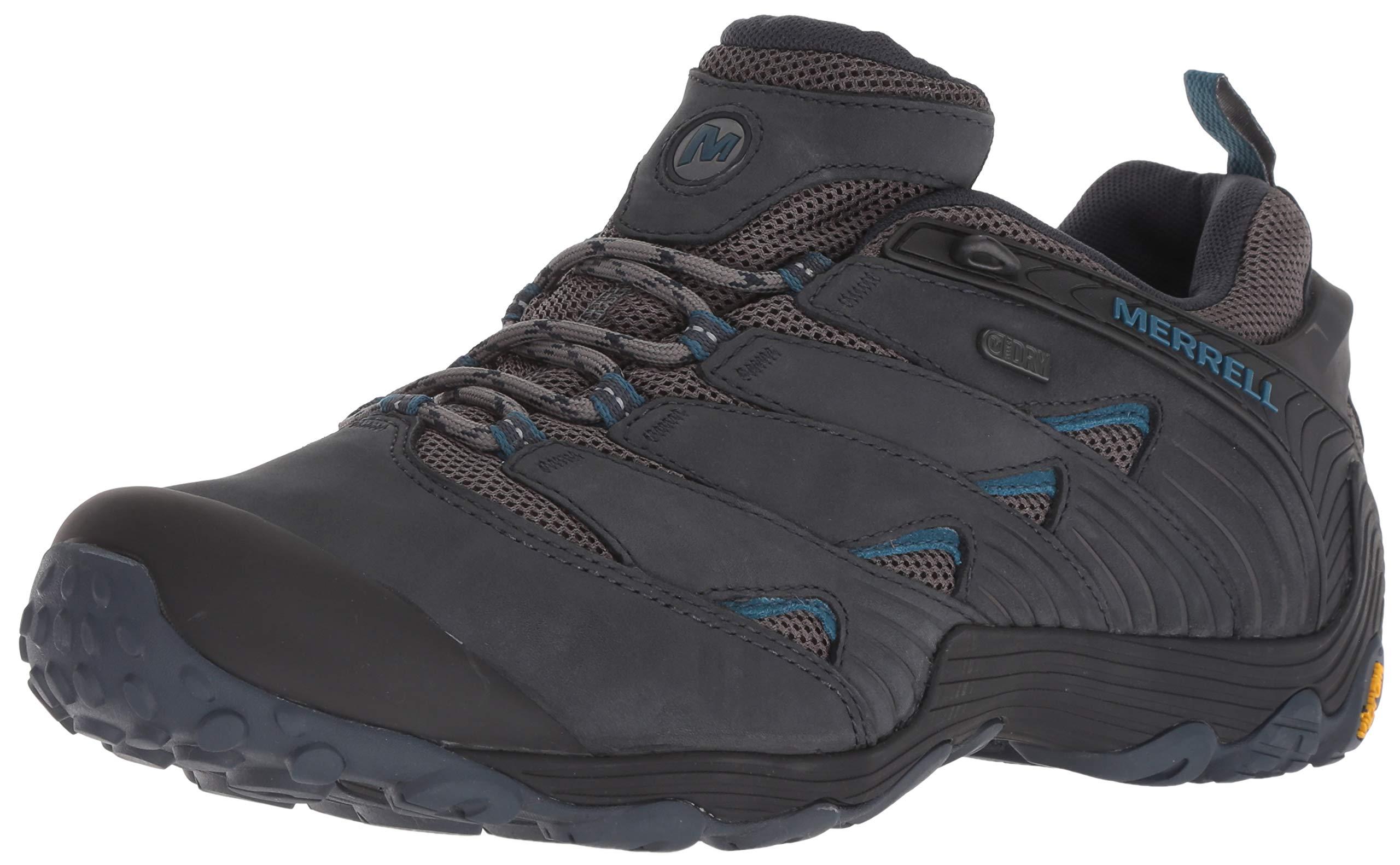 Merrell Men's Chameleon 7 Waterproof Hiking Shoe, Navy, 08.5 M US