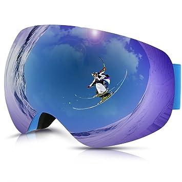 Gafas de Esquí,Gafas de Nieve de Snowboard Unisex Gafas Esqui Snowboard-amarillo: Amazon.es: Deportes y aire libre