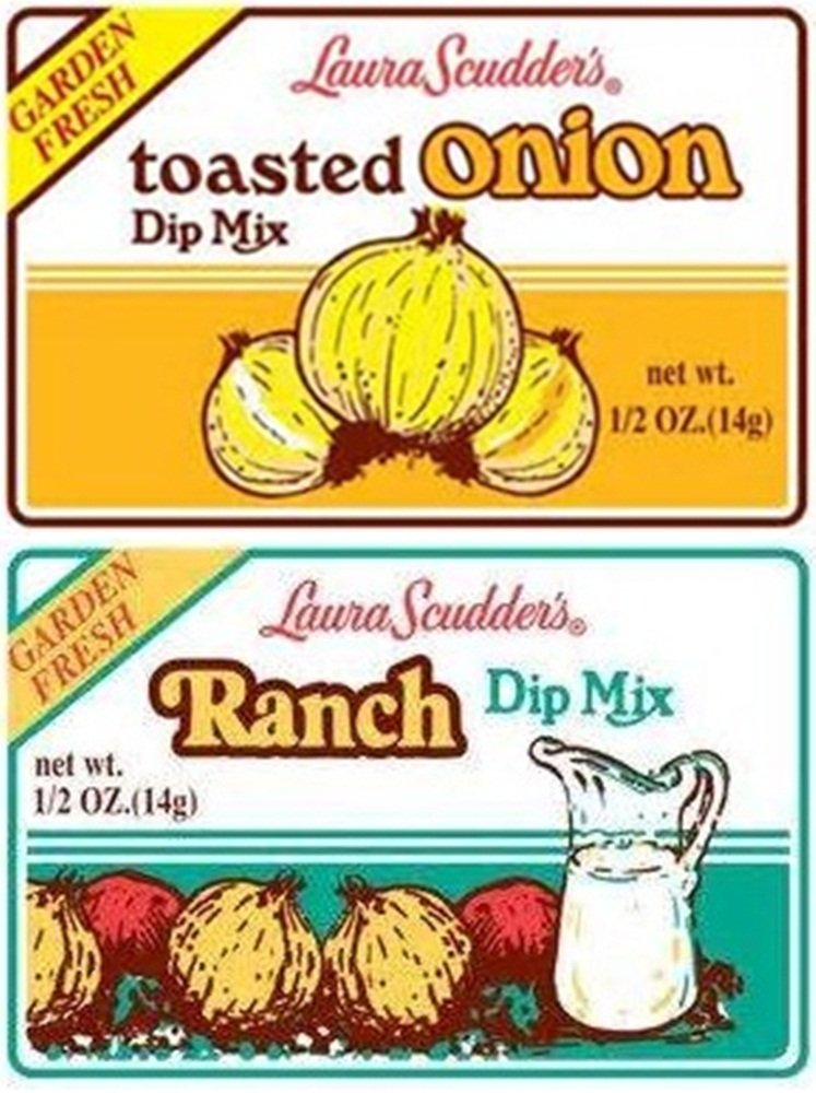 Laura Scudder's Toasted Onion and Ranch Dip Mix (Pack of 6) by Laura Scudder's
