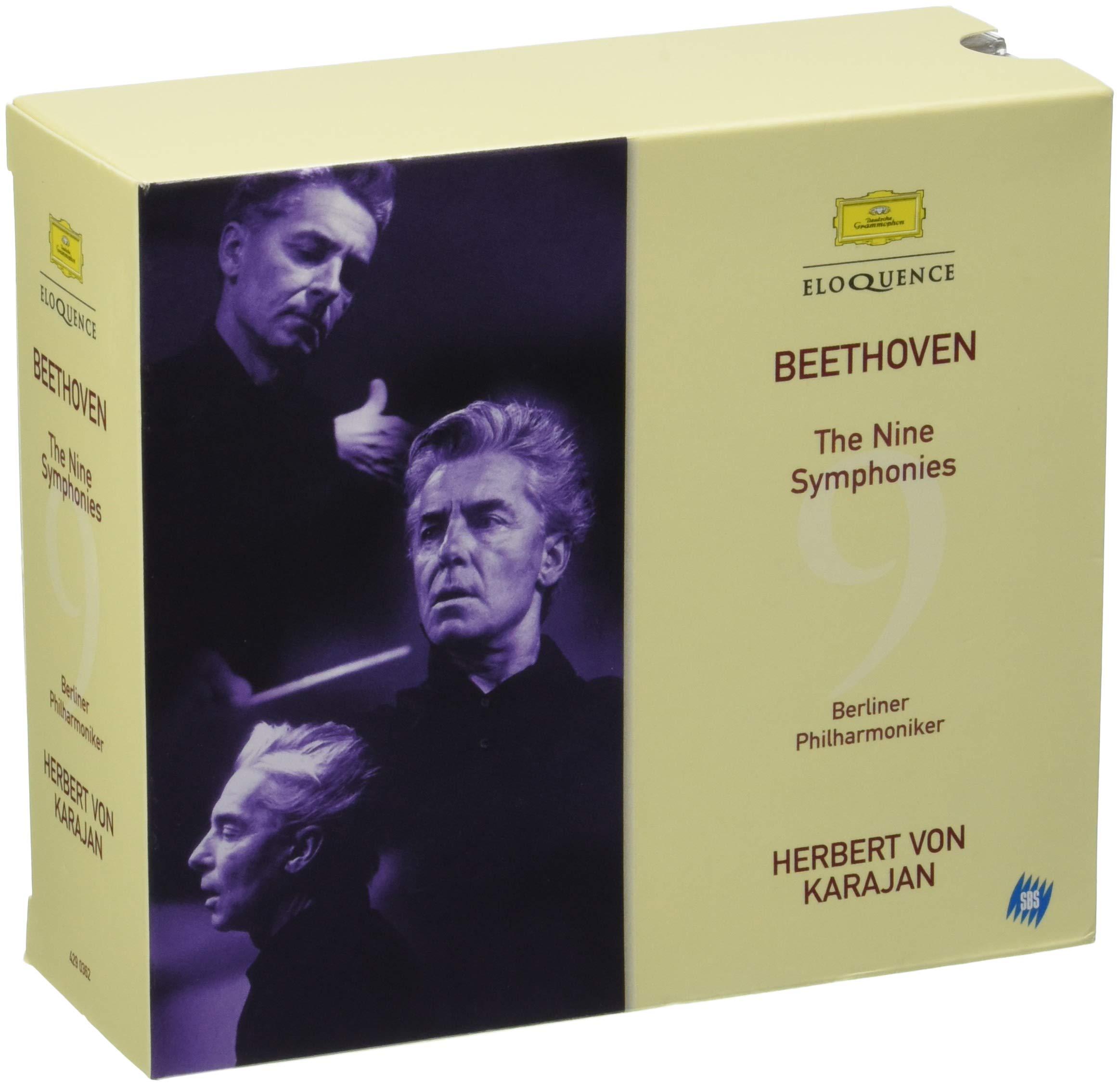 Beethoven: 9 Symphonies (1963) by Deutsche Grammophon