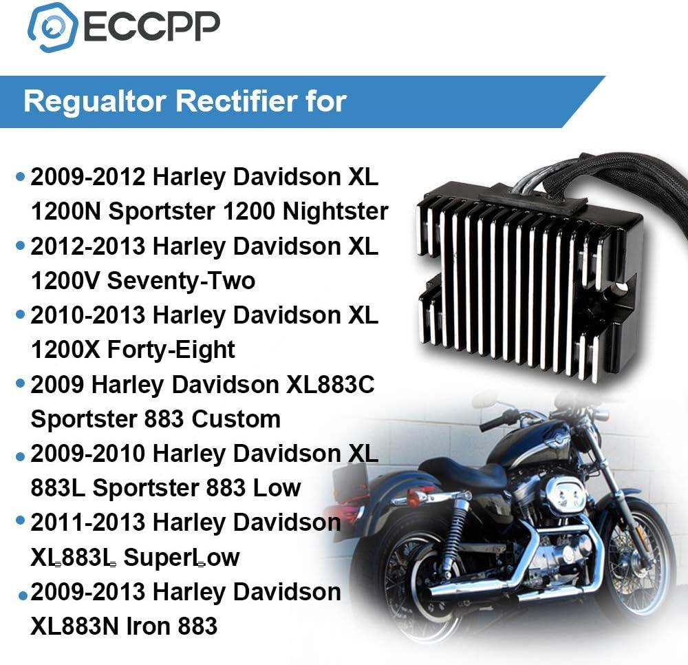 OCPTY Voltage Regulator Rectifier Fits 1994-2003 Harley-Davidson Sportster 1200 1994-2003 Harley-Davidson Sportster 883