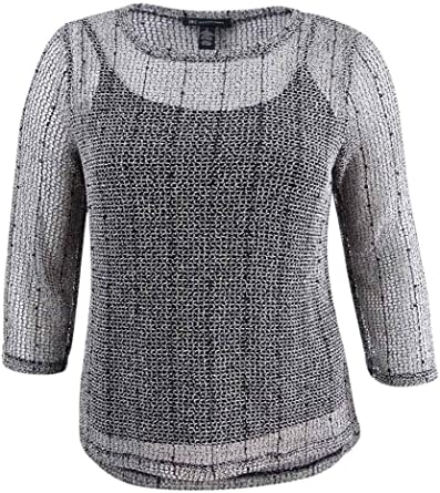 INC International Concepts Womens Ruched Knit Cardigan