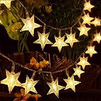 HOMVAN Luces de Estrellas 50 LED Estrellas 7.5M