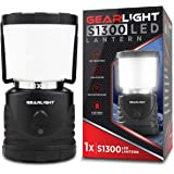 GearLight LED Camping Lantern S1300 - Up to 72 Hours Battery Powered Light - Outdoor, Camp, Tent, Hurricane, and…