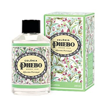 Amazon.com : Linha Mediterraneo Phebo - Deo Colonia Alfazema Provencal 200 Ml - (Phebo Mediterranian Collection - Eau de Cologne Lavender From Provence 6.8 ...