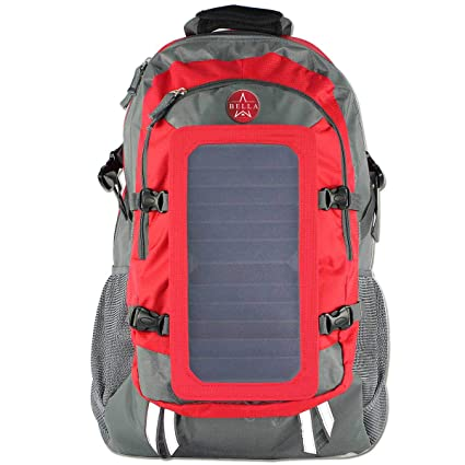 5258cd69cf57 Amazon.com : BELLABYDESIGNLLC Solar Power Backpack 40L Backpack with ...