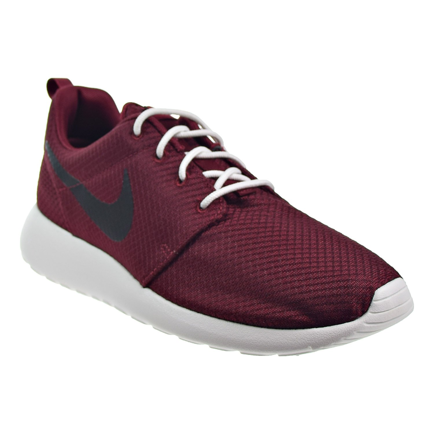 c60ae7eb3d84 Nike Roshe One Mens Shoes Team Red Black Summit White 511881-607 (9 B(M)  US)  Buy Online at Low Prices in India - Amazon.in