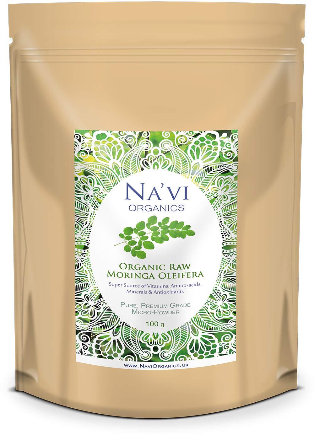 Polvo de hoja de moringa oleifera orgánica, calidad superior: Amazon.es: Salud y cuidado personal