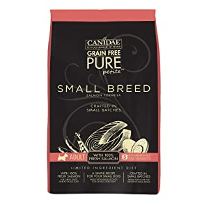 CANIDAE Grain-Free PURE Petite Freeze-Dried Raw Coated Dry Dog Food